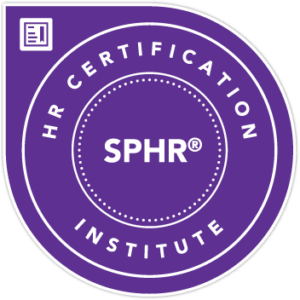 HR Certification SPHR Seal
